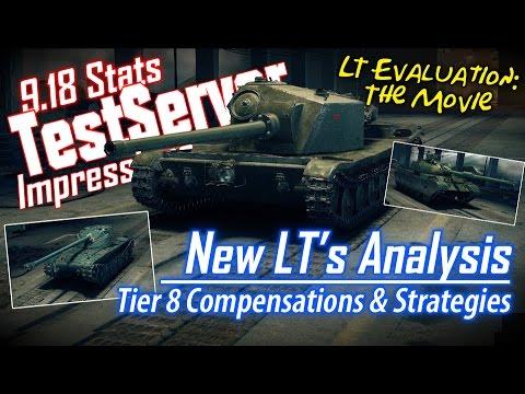 9.18 T.S. – New LT's Analysis || World of Tanks