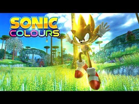 Sonic Colors - Planet Wisp Act 1 - Super Sonic 4K 60 FPS