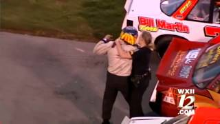 Bowman Gray driver suspended for outburst