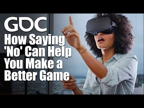How Saying 'No' Can Help You Make a Better Game