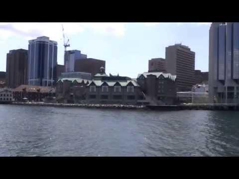 Cruising Halifax Harbor (Nova Scotia, Canada)