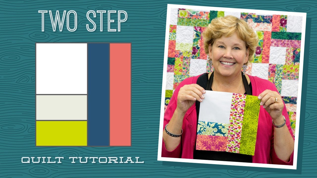 Make A Two Step Quilt With Jenny