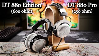 Beyerdynamic DT 880 Pro (250ohm) gegen DT 880 Edition (600ohm)