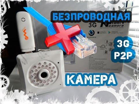 3G P2P видеокамера. Обзор подключение и настройка..