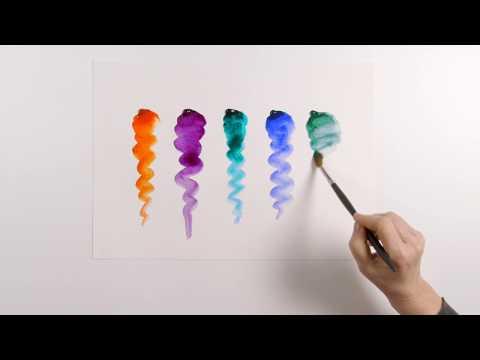 Reintroducing Jewel Colours | Winsor & Newton Professional Watercolour
