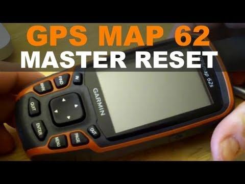 Garmin GPSMap 62 - How to Master Reset - GPSMAP 64