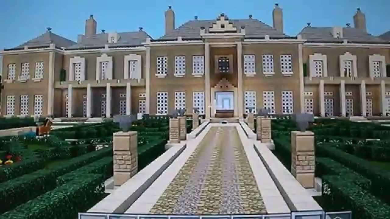 Biggest Minecraft Mansion Tour