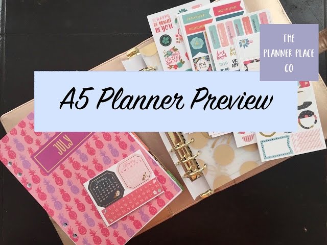 Recollections Planner & Stickers | New Planning Goodies