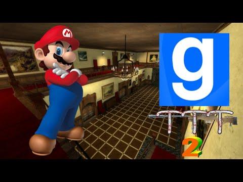 Garry's Mod TTT (Ep. 02) - MARIO ON THE RAMPAGE!!