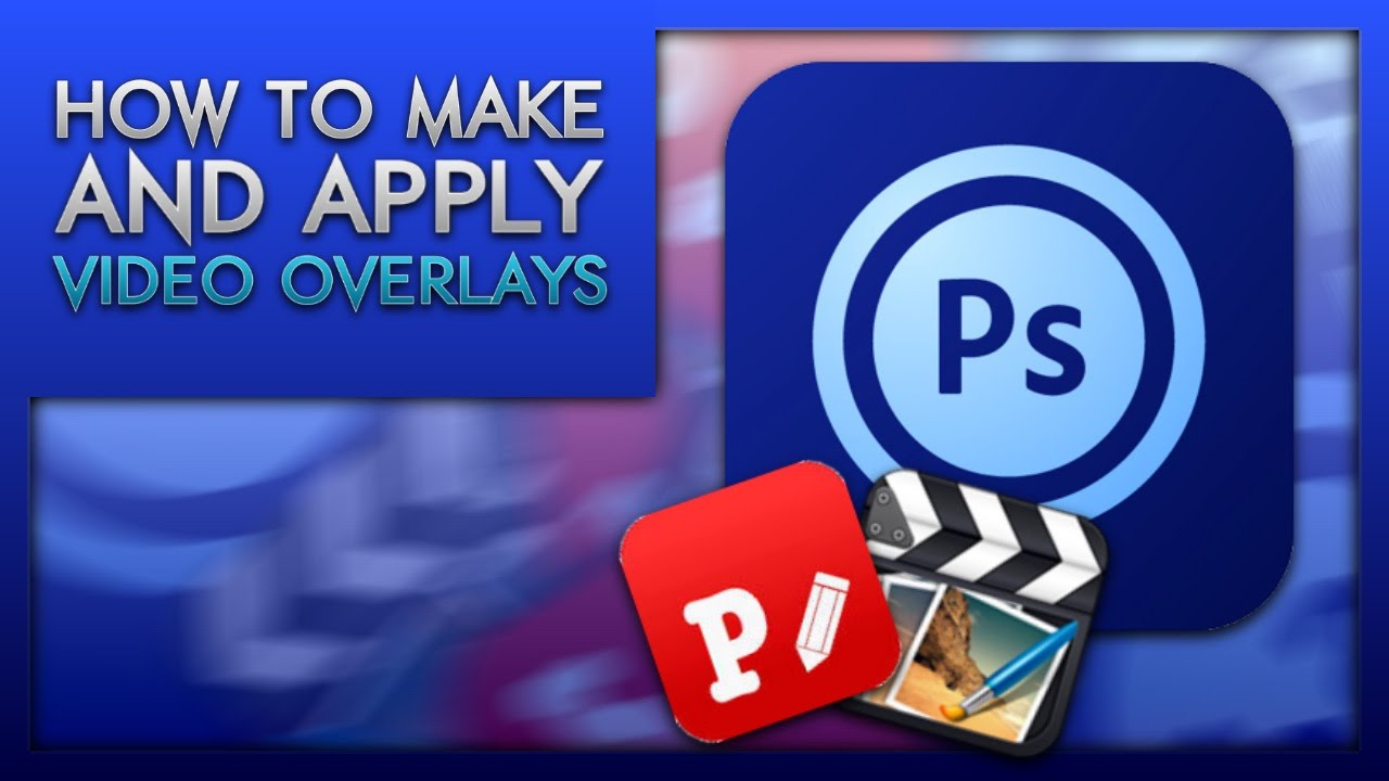 How To Make And Apply Video Overlays (iOS)