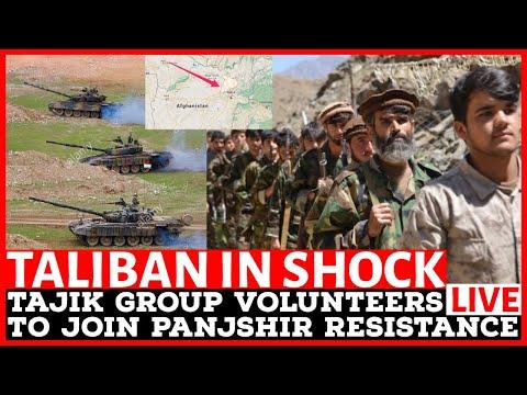 TALIBAN IN SHOCK! Tajik Group Volunteers to Join Panjshir Resistance.