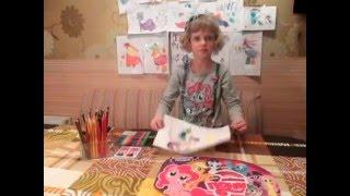 Нарисовать Пони - Принцесса Селестия. Учимся рисовать поняшек.(Нике 5 лет и она очень любит рисовать, особенно ПОНИ из My little Pony! У Ники насобиралась небольшая коллекция..., 2016-02-29T23:02:34.000Z)
