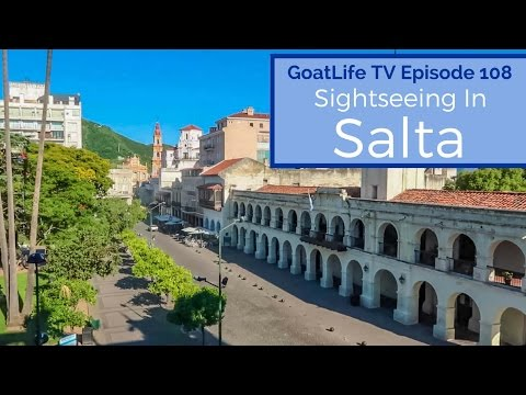 Sightseeing in Salta, Argentina