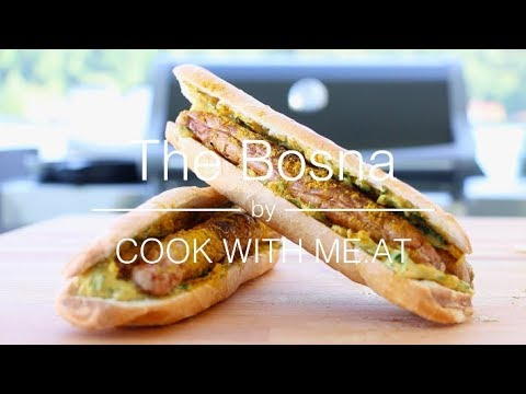 The Bosna aka. Austrian Hot Dog - COOK WITH ME.AT