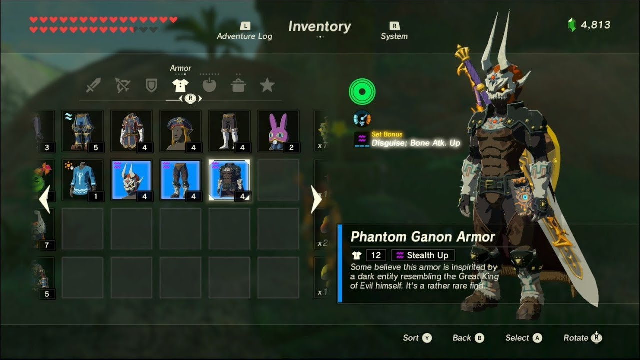 The Legend Of Zelda Breath Of The Wild Playthrough Part 64 Extra 24 New Dlc Armor Locations