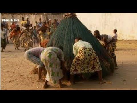 Benin. Dancing with the spirits Zangbeto Voodoo - The Best Documentary Ever