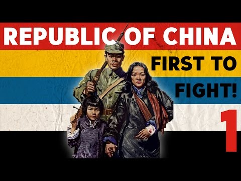 """Hearts of Iron IV - Republic of China 1 """"Liberty or Death!"""""""