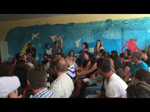 3/5 : Centre de migrants à Forges Les Bains : réunion parents d'élèves (10/09/16)