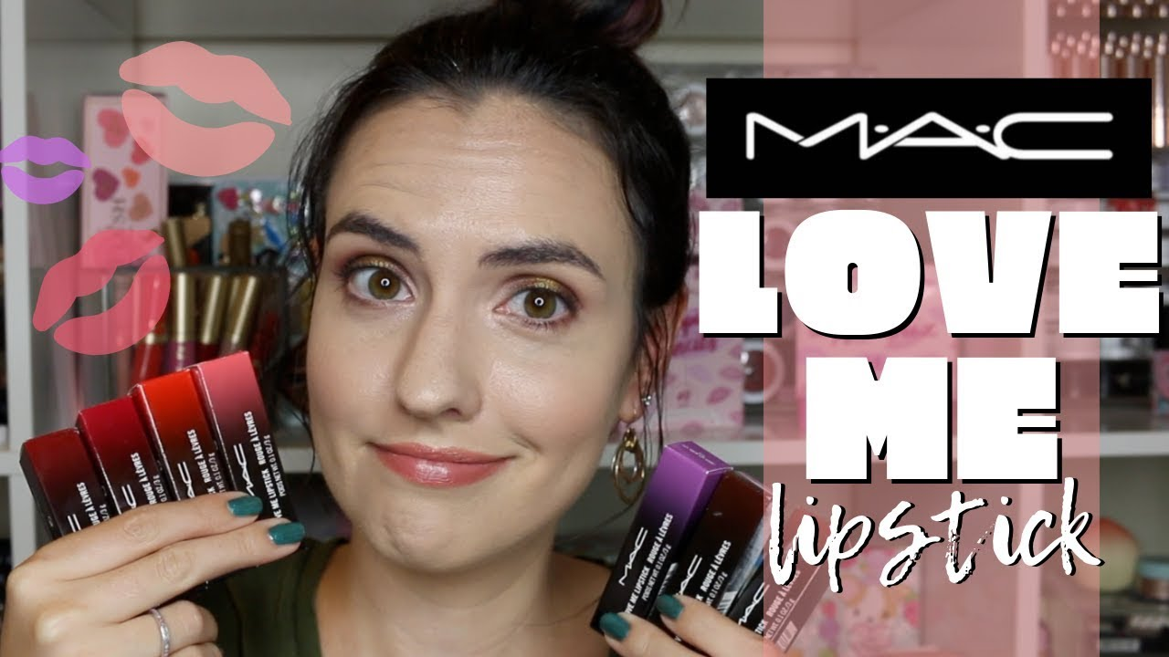 New Mac Love Me Lipstick Lip Swatches Of 14 Shades Extended Bloopers