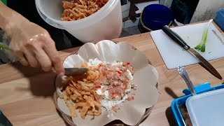 HARGANYA 12 RB!! NASI TELOR PAKAI SAMBEL MATAH INDONESIAN OMELETTE WITH ONION HOT SAUCE STREET FOOD