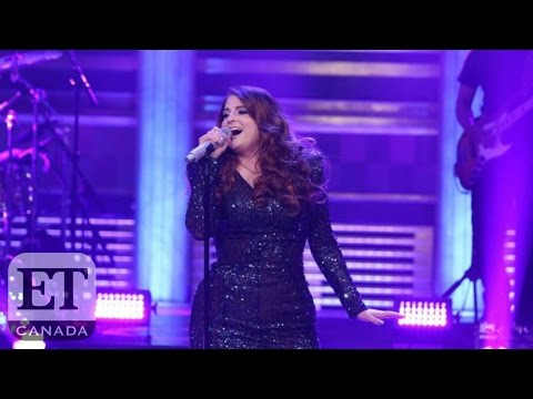 Meghan Trainor Falls On 'The Tonight Show'