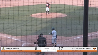 Oklahoma State Cowboy Baseball vs. Wright State - Game 2 Video