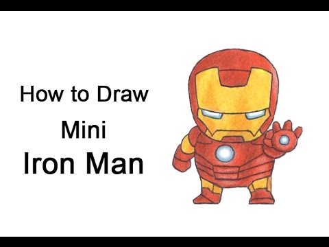 How to draw iron man mini youtube - Mini iron man ...
