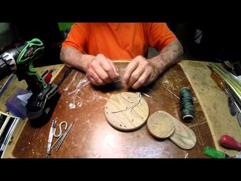 Pwalpar VLOG Restring an old wind chime Part One