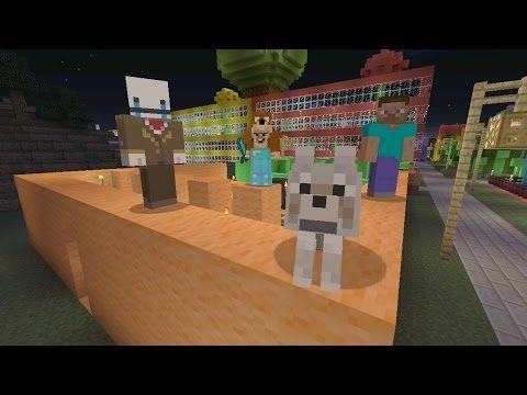 Minecraft Xbox - Big Board Game [201]
