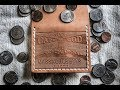 Leather Crafting - Making an Embossed Coin Wallet