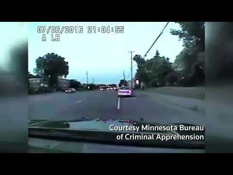 Dashcam video shows police shooting of Philando Castile (warning graphic content)
