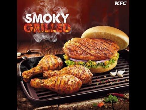 KFC SMOKY GRILLED CHICKEN TASTE TEST |THE CALCUTTA GIRL | INDIAN ...