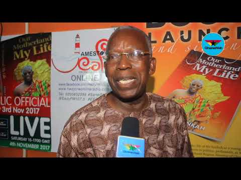 Kojo Yankah launches book titled 'Our Motherland, My Life'