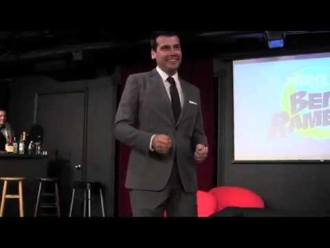 Ben's Monologue: Actors on Facebook -- Night Late with Ben Rameaka