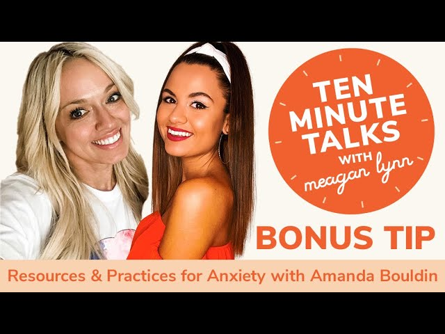 Resources & Practices for Anxiety with TikTok's 'After Hours with Amanda'