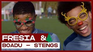 FRESIA & | Vieren Boadu en Stengs liever kerst met Lionel Messi of Frank de Boer?