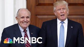 Giuliani: President Trump Reimbursed Cohen For Stormy Daniels Hush Money | The 11th Hour | MSNBC