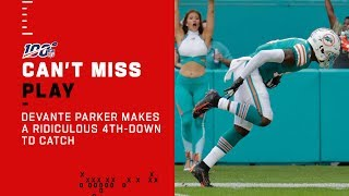 DeVante Parker w/ a Ridiculous 4th-Down TD Catch!