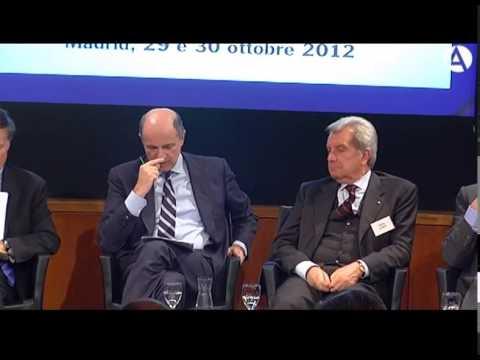 XII Foro de Diálogo España-Italia: 'España e Italia en la crisis europea'' Parte 1