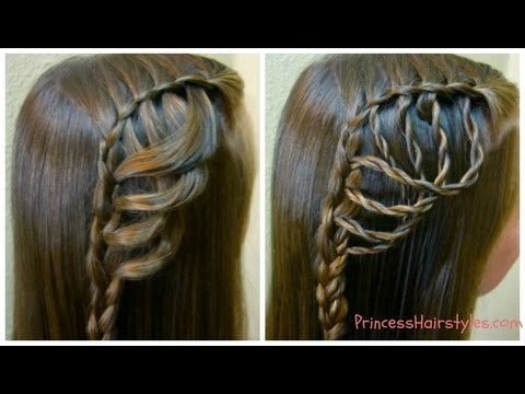 folded feather braid braided hairstyles