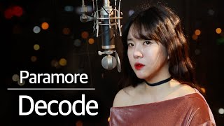 (+1 key up) Decode - Paramore cover | Bubble Dia