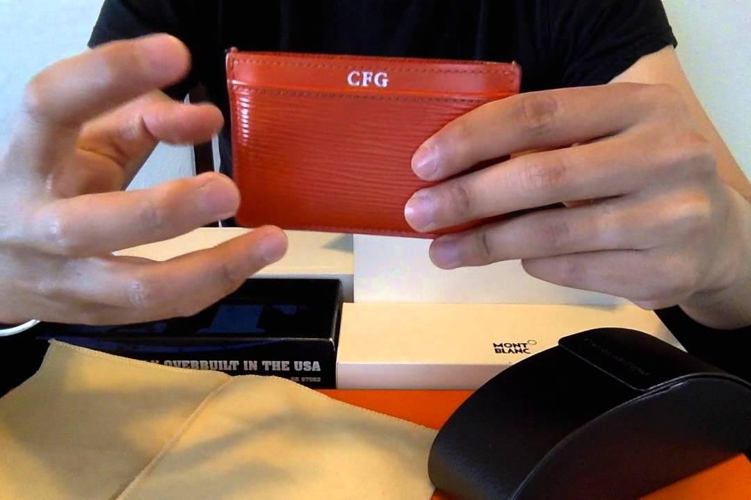 Louis Vuitton Epi Wallet (card holder) - YouTube