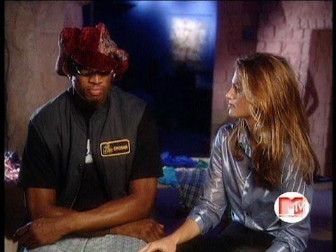 Cindy Crawford interview Dennis Rodman 90's