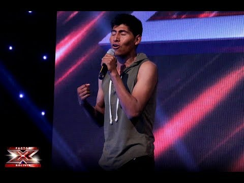 Desde Oruro llega este gran cantante |Audiciones 2da temporada| Factor X Bolivia 2018