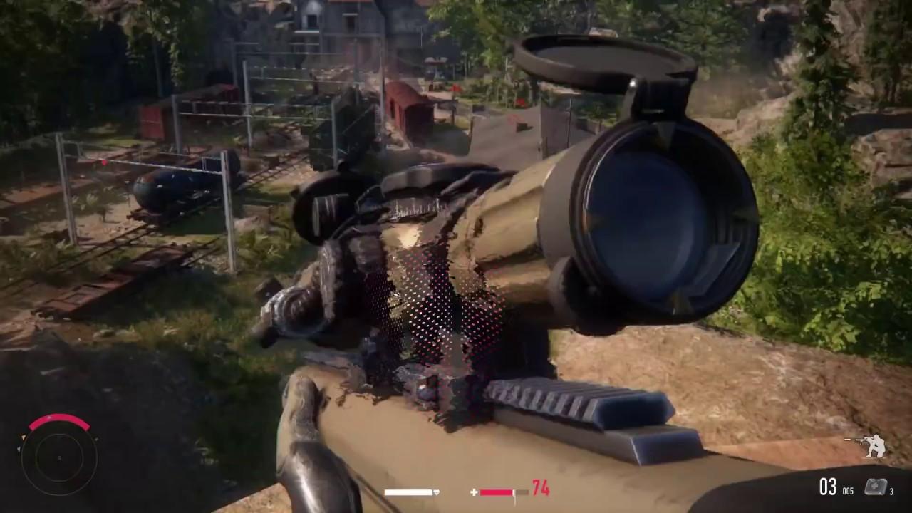 Download Barrett M82 .50 Caliber ! Long Range Sniper Kills in Sniper Ghost Warrior Contracts Game