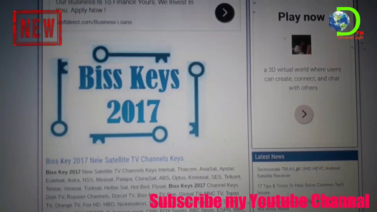 Sony tv biss key 2017 | AISASAT 7 ALL CHANNELS BISS KEYS  2019-06-10