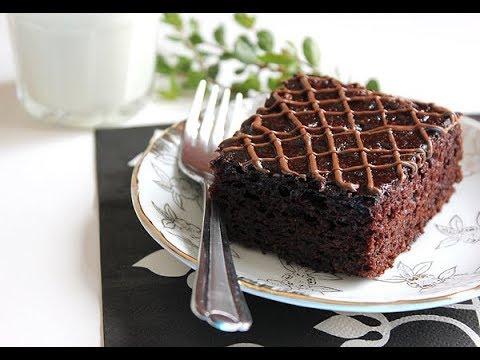 çikolatalı ıslak kek nasıl yapılır? -  sosu yumurtasız tarif #ıslakkek #browni