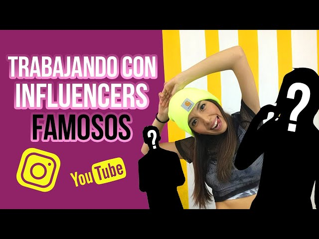 TRABAJANDO CON INFLUENCERS FAMOSOS (YOUTUBE - INSTAGRAM - TIKTOK)