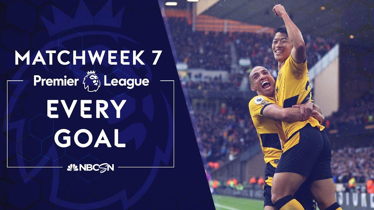 Every Premier League goal from Matchweek 7 (2021-22) | Premier League | NBC Sports