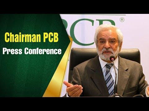 Chairman PCB, Mr. Ehsan Mani press conference at Gaddafi Stadium, Lahore | PCB